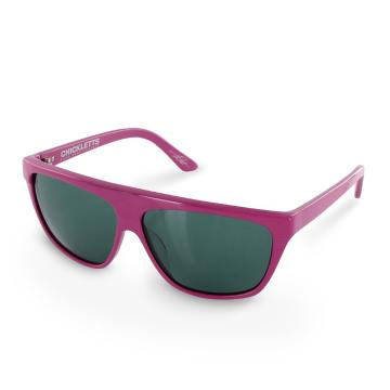 Electric Chickletts Unisex Sunglasses - Pnthr Pink/Gry O/S