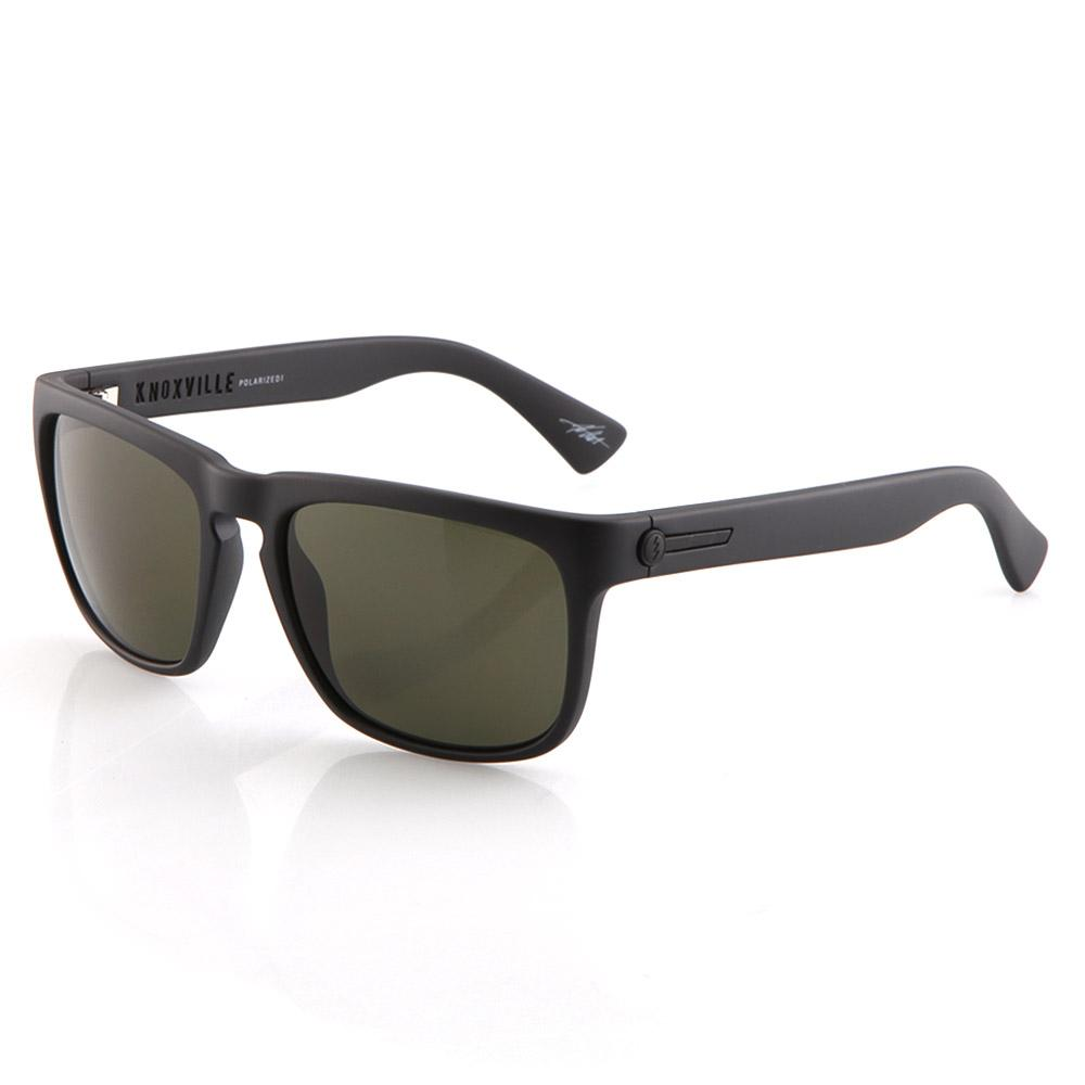 Knoxville Polarized Sunglasses - Matte Black With Grey Lens