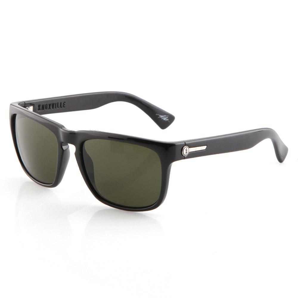Knoxville Sunglasses - Gloss Black With Grey Lens