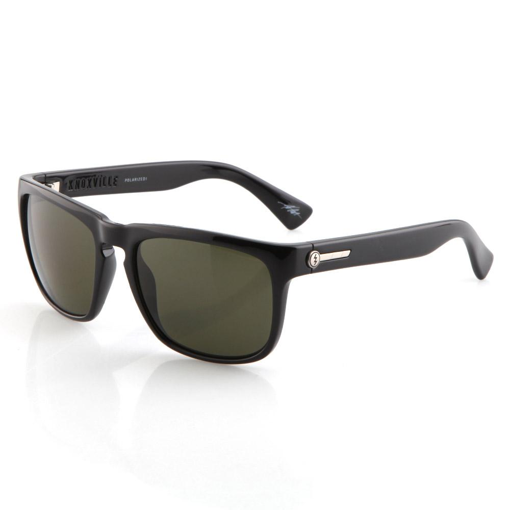 Knoxville Sunglasses - Gloss Black/Polarized Grey Lens