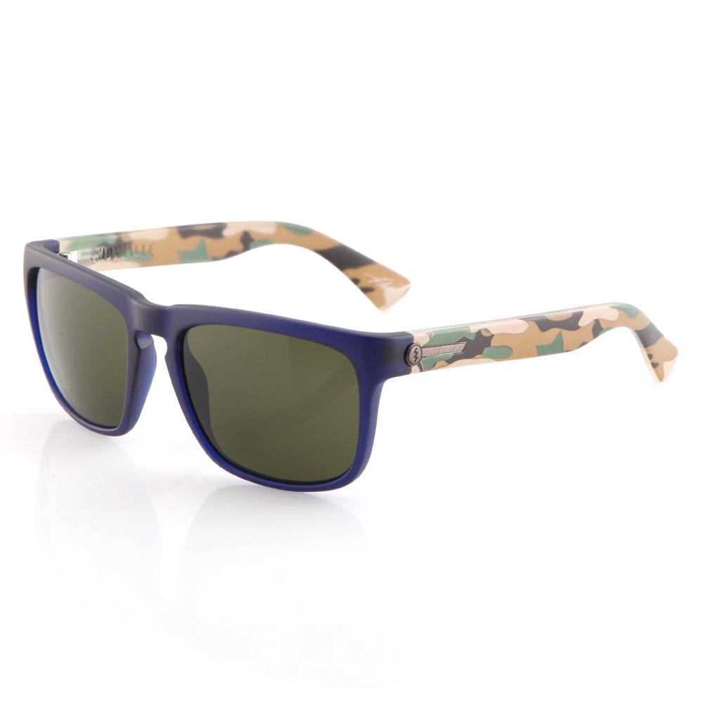 Knoxville Sunglasses - Blue Jungle With Grey Lens