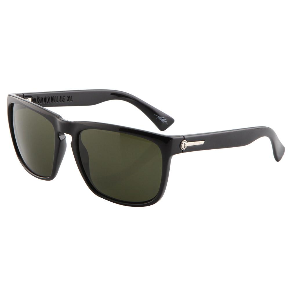 Knoxville XL Sunglasses - Gloss Black/Grey Lens