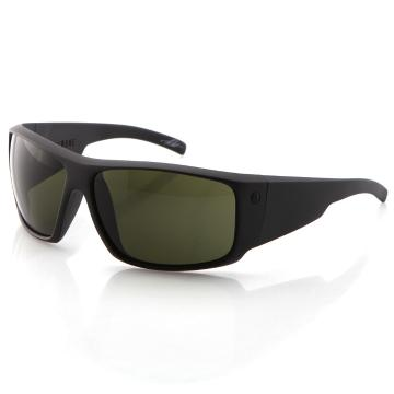 Electric Backbone Sunglasses - Matte Black With Grey Lens