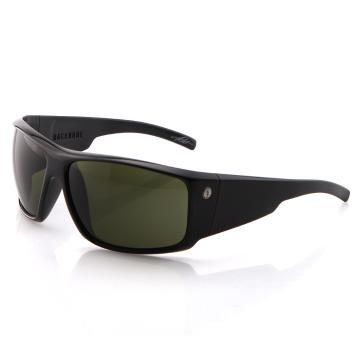 Electric Backbone Sunglasses - Black Gloss With Grey Lens