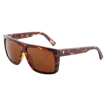 Electric Black Top Sunglasses - Tortoise Shell With Bronze Lens