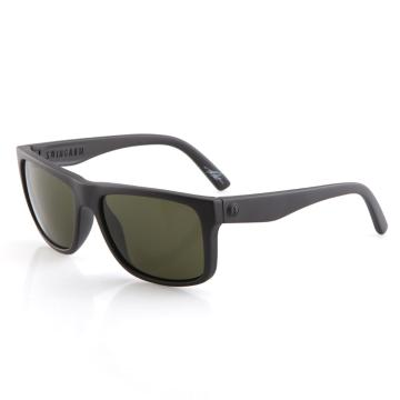 Electric Swingarm Sunglasses - Matte Black With Grey Lens