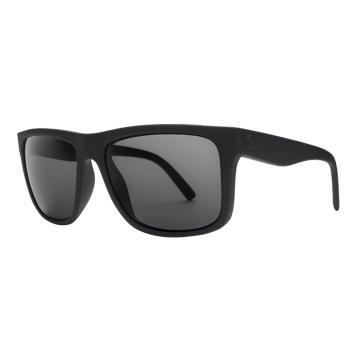 Electric Swingarm XL Sunglasses - Polarized - Matte Black/OHM P Grey