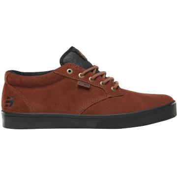 Etnies Jameson Mid Crank Shoes - Brown/Black