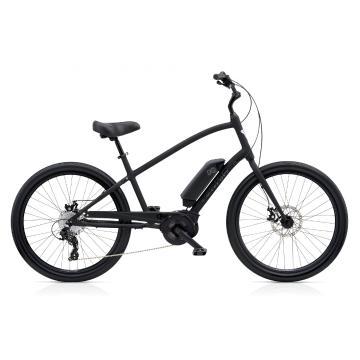 Electra Townie Go 8D Men's E-Bike - Matte Black