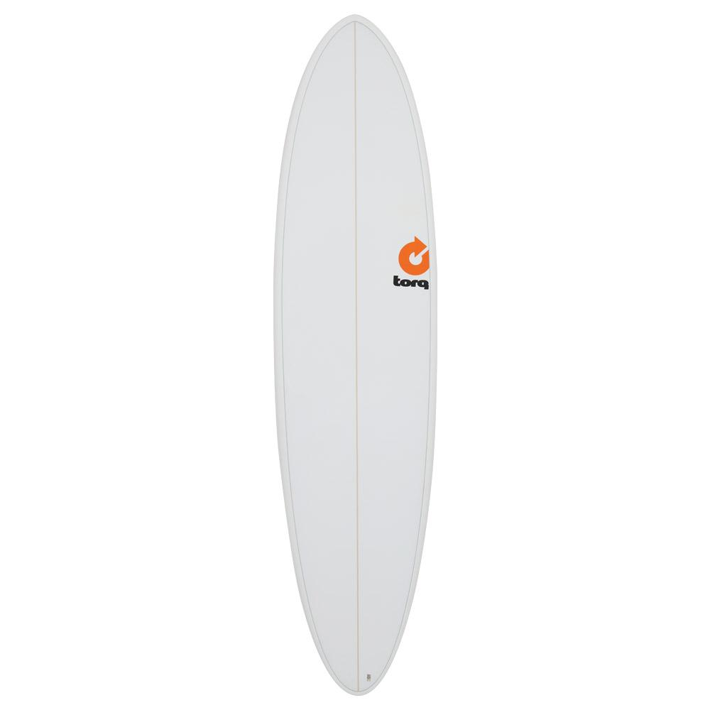 Surfboard 7ft 2in Fun - White