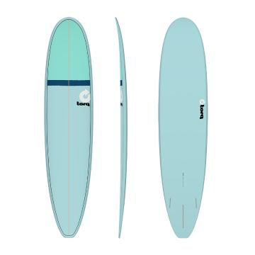 Torq Surfboard 8ft 6in Long - Blu+NvyBlu+Seagreen