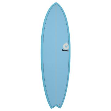 Torq Surfboard 5ft11in Fish - Blue Fade