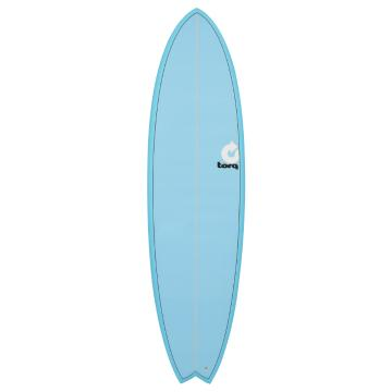 Torq Surfboard 6ft10in Fish - Blue Fade