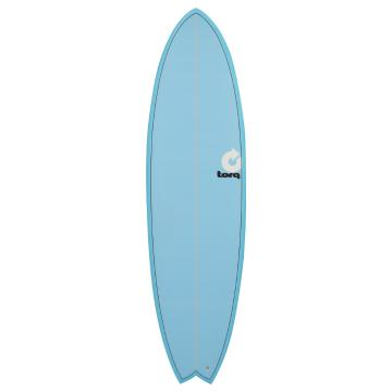 Torq 2017 Surfboard 6ft 3in Fish - Blue Fade