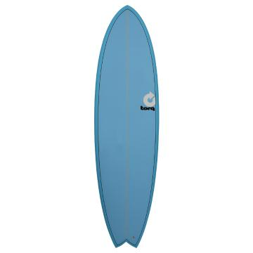 Torq 2017 Surfboard 6ft 6in Fish - Blue Fade