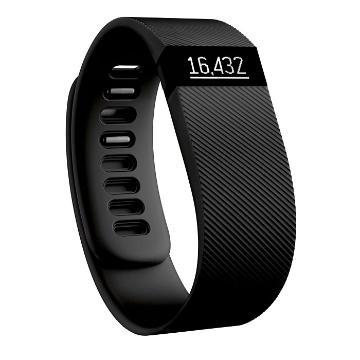 Fitbit Charge Wireless Activity + Sleep W/B Large Black