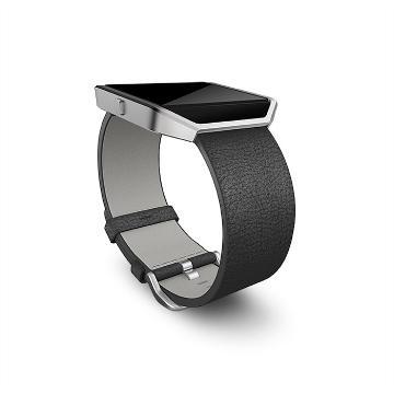 Fitbit Blaze Band Leather Black Large