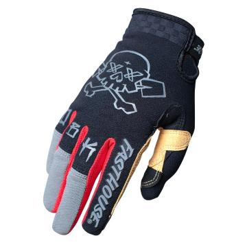 Fasthouse Speed Style Twitch Gloves - Black/Charcoal