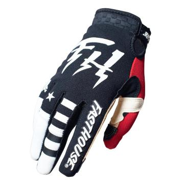 Fasthouse Youth Speed Style Bereman Gloves - Black/Cream
