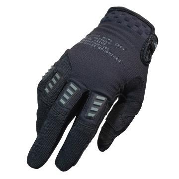 Fasthouse Off Road Strike Moto Gloves - Black - Black