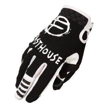 Fasthouse Youth Speed Style Punk Gloves - Black/White/Pink