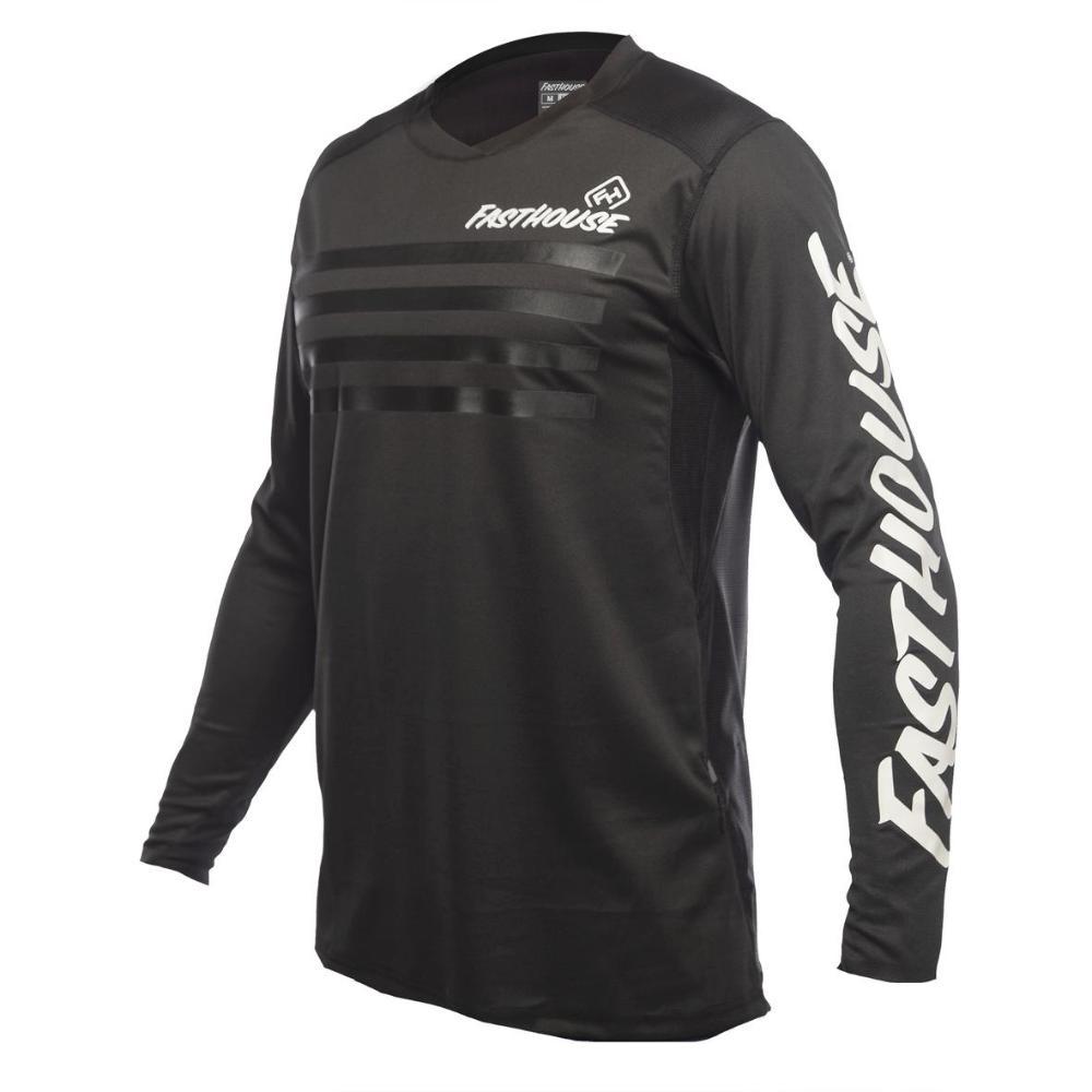Alloy Stripe Long Sleeve MTB Jersey
