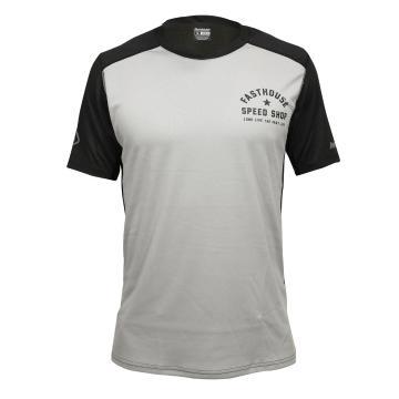 Fasthouse Alloy Star Short Sleeve MTB Jersey - Silver/Black