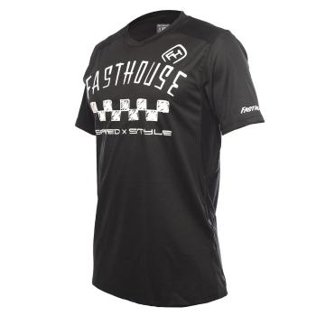 Fasthouse Alloy Nelson Short Sleeve MTB Jersey - Black