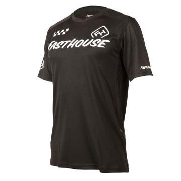Fasthouse Alloy Block Short Sleeve Jersey - Black
