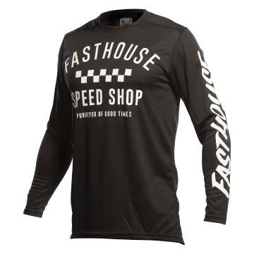 Fasthouse Carbon Moto Jersey - Black - Black