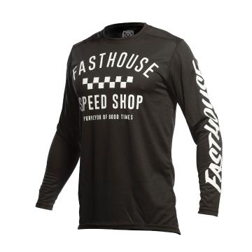 Fasthouse Youth Carbon Moto Jersey - Black