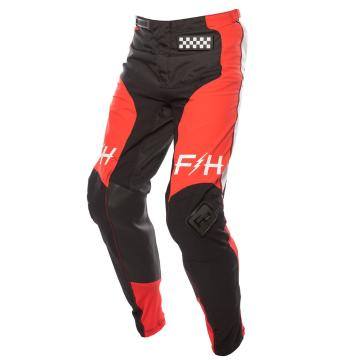 Fasthouse Raven 2.0 Moto Pants - Red/Black