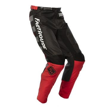 Fasthouse Youth Grindhouse 2.0 Moto Pants - Black/Red