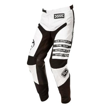 Fasthouse Youth Grindhouse 2.0 Punk Pants - White/Black