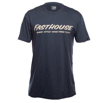 Fasthouse Prime Tech Tee - Indigo - Indigo