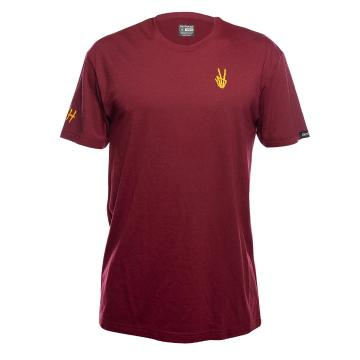 Fasthouse Roots Tech Tee - Maroon - Maroon