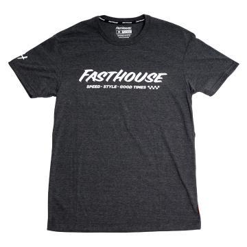 Fasthouse Prime Tech Tee - Dark Heather