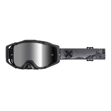 Funn Anti-Fog MTB Googles with Lens + Tearoffs - Black Cliff