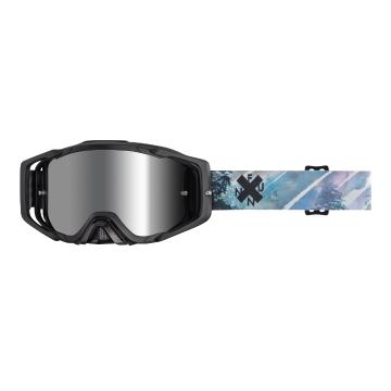 Funn Anti-Fog MTB Goggles with Lens + Tearoffs - Blue Forest