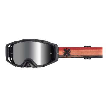 Funn Anti-Fog MTB Goggles with Lens + Tearoffs - Red Ridge