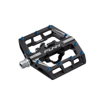 Funn Mamba One-Sided SPD Pedals - Anodised Black