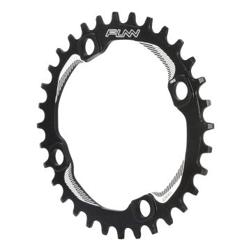 Funn Solo NW Chainring 104mm BCD - Black
