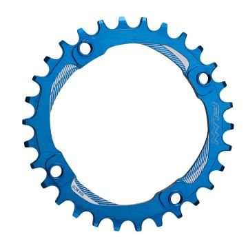 Funn Solo NW Chainring 104mm BCD - Blue