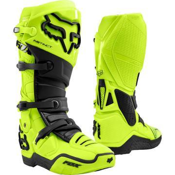 Fox Instinct Boots - Flo Yellow
