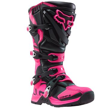 Fox Women's Comp 5 Boots - Black/Pink