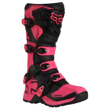 Fox Comp 5 Youth Boots - Black/Pink