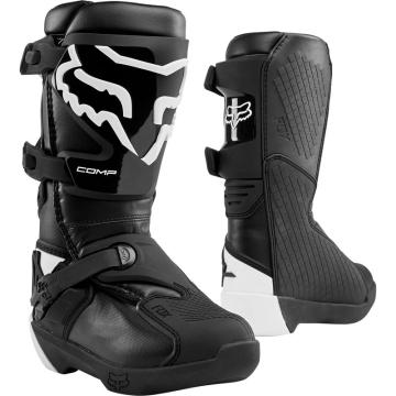 Fox Youth Comp Boot - Black