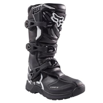 Fox 2017 Youth Comp 3 MX Boots - Black