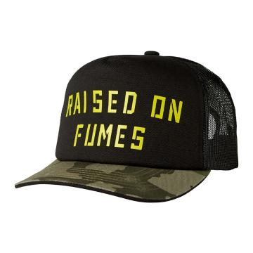 Fox Raised On Fumes Snapback Hat