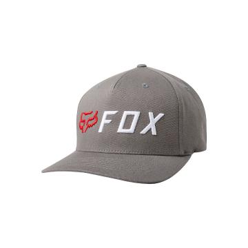 Fox Cut Off Flexfit Hat - Pewter